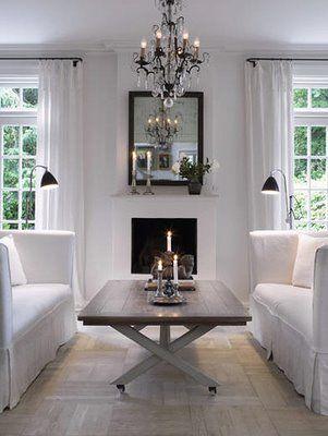 clean my style living room room living room white rh pinterest ca