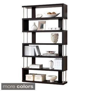 chrome etagere with tempered glass shelves overstock com shopping rh pinterest com