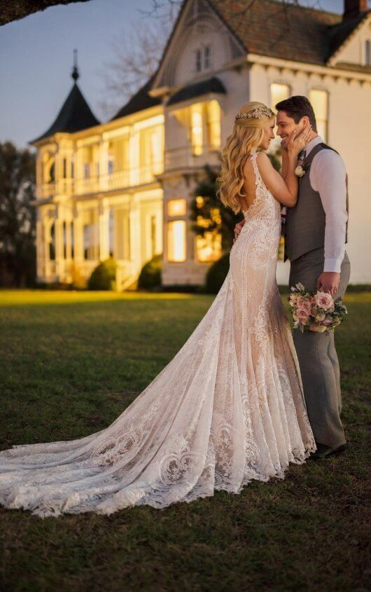 2561d6070b43 Wedding Dresses | Dream Wedding | Lace weddings, Lace mermaid ...