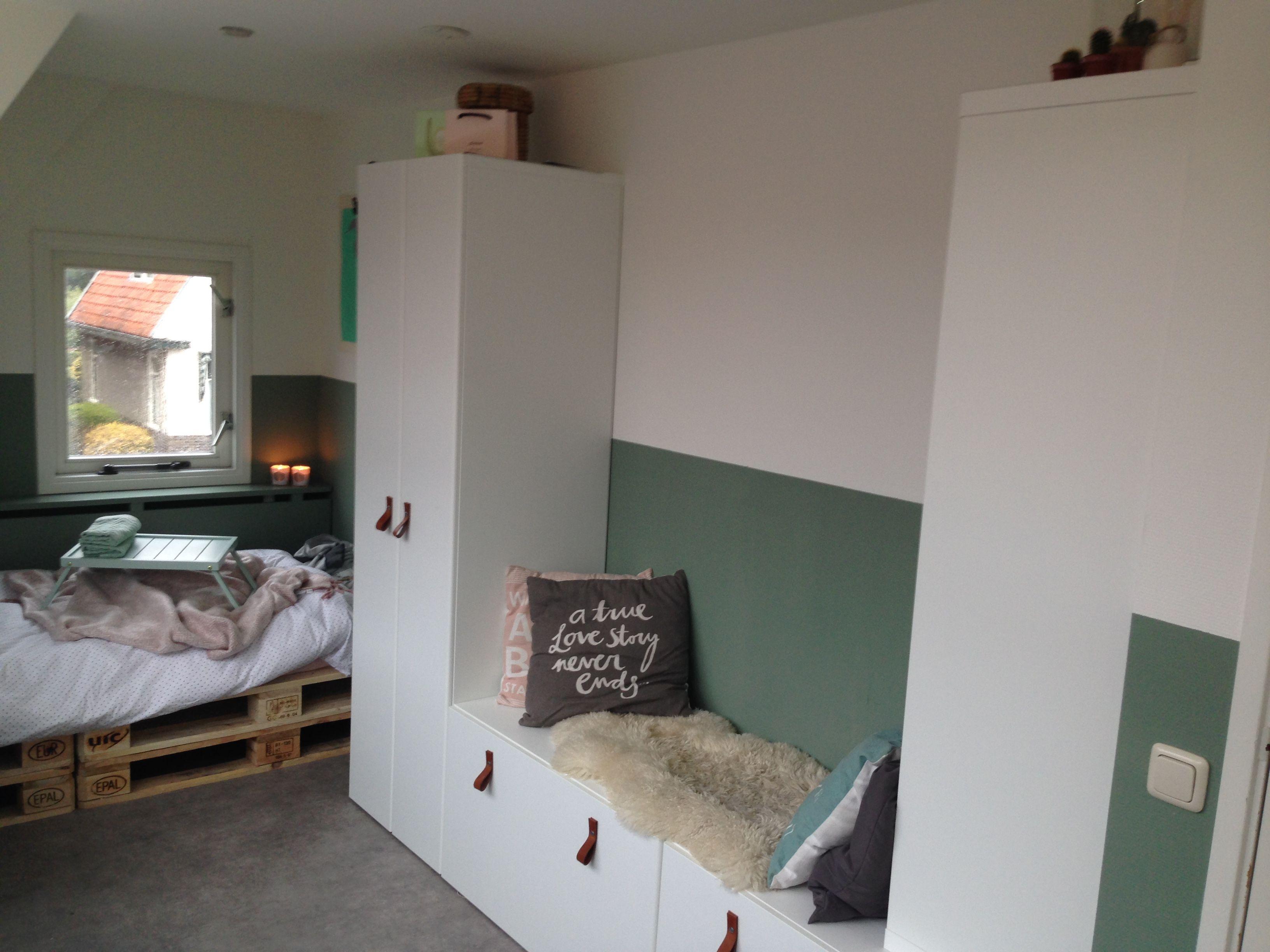 New room Ikea besta följa cactus Kinderzimmer schulkind