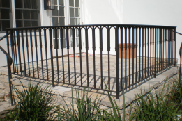 Best Custom Made Wrought Iron Handrail Wrought Iron Handrail 400 x 300