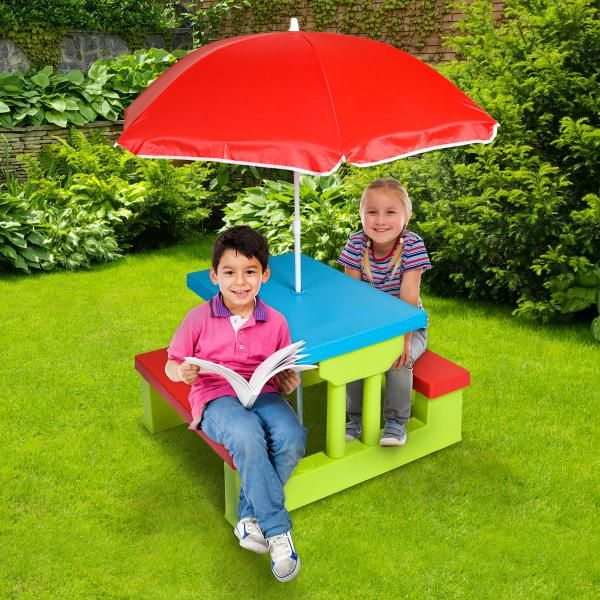 Kids Outdoor Table Set | Outdoor Toys | Great Gifts At Deals Direct