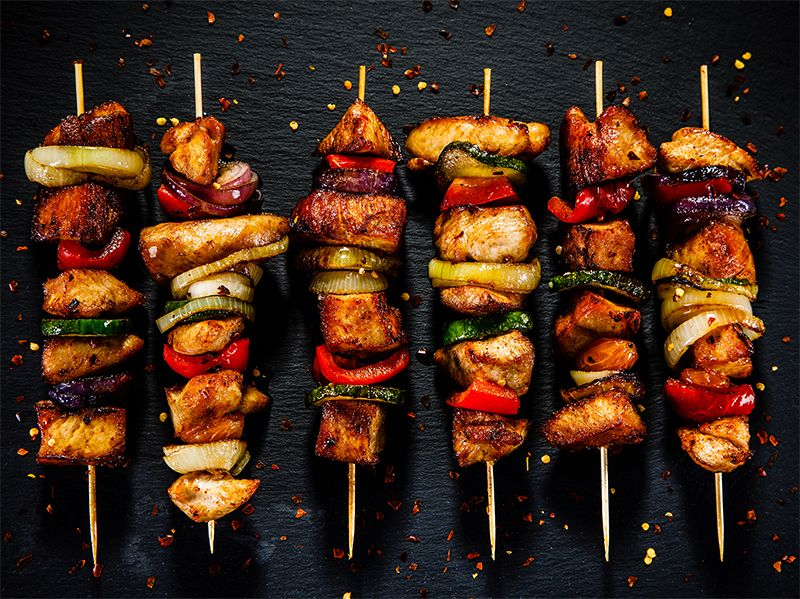 Grilled Ginger Chicken Kabobs In 2020 Kebab Recipes Easy Kebab Recipes Kabobs
