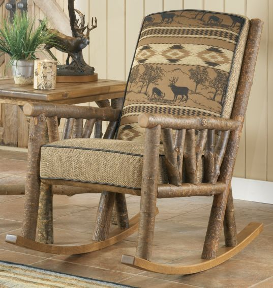 cabela s black river bucks rocker cabela s rustic country rh pinterest com