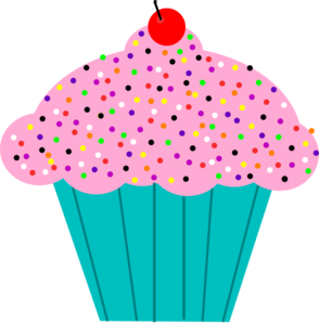 pink frosted cupcake clip art cuppycakes pinterest vector rh pinterest com free printable cupcake clipart cupcake clipart free download