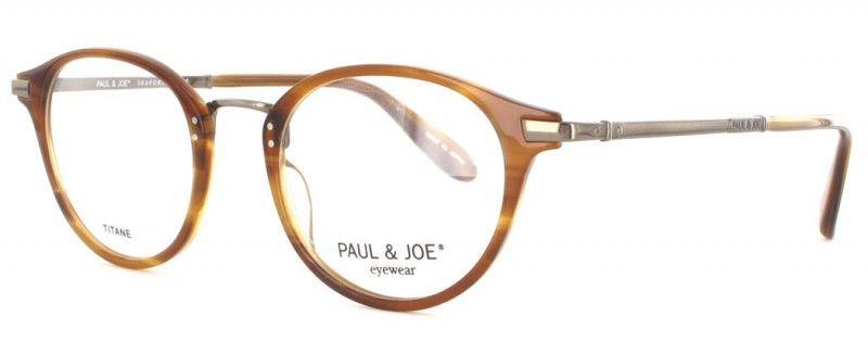 0700757a049366 La Paul and Joe AMAZONI 11 est une lunette de vue en écaille avec branches  en titane. C est un modèle mixte. Référence complète  Paul and ...