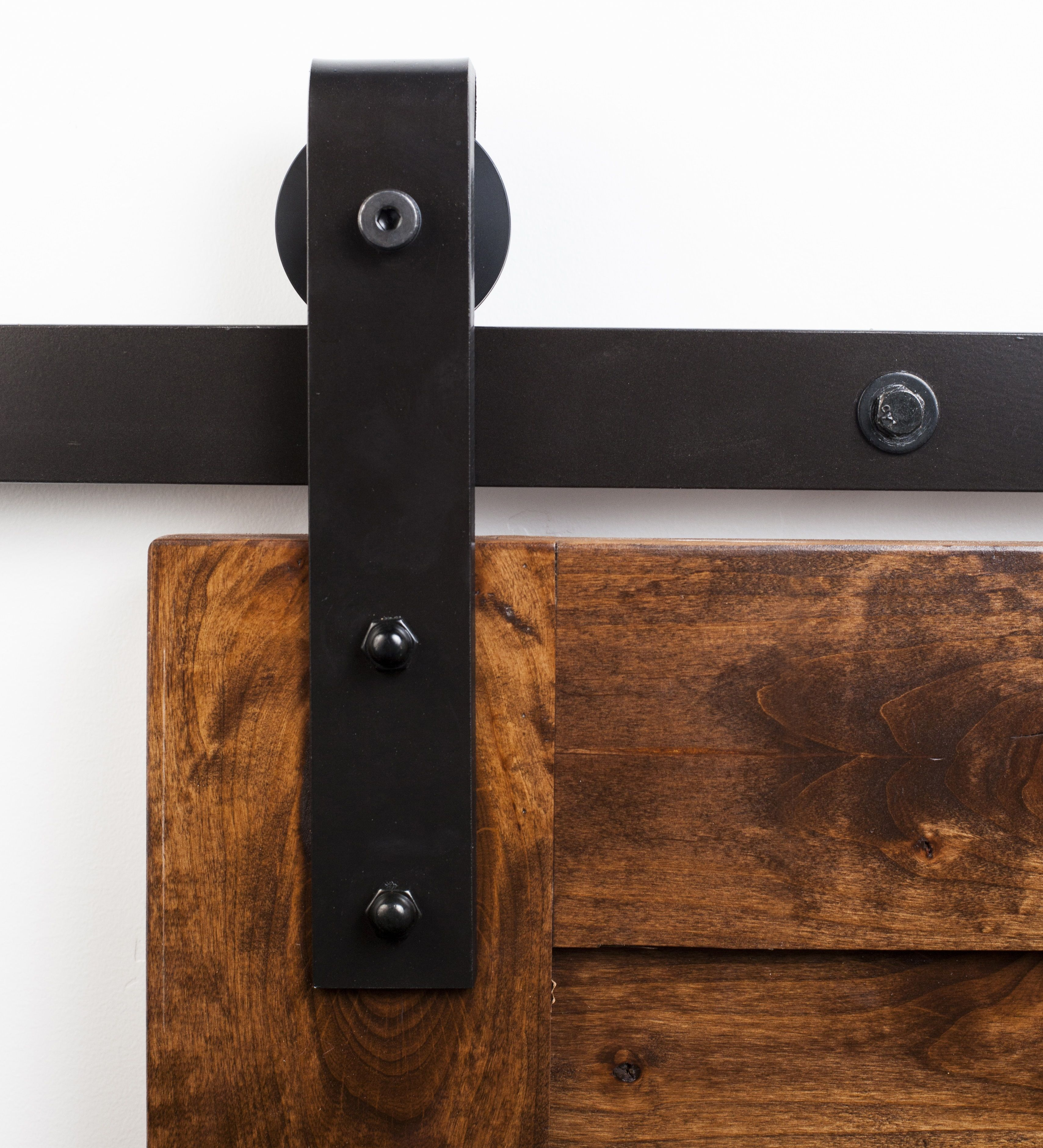 The Industrial Flat Track Hardware kit is one of the most popular sliding door hardware kits in the world. Buy it today. The Industrial starts at $298.00