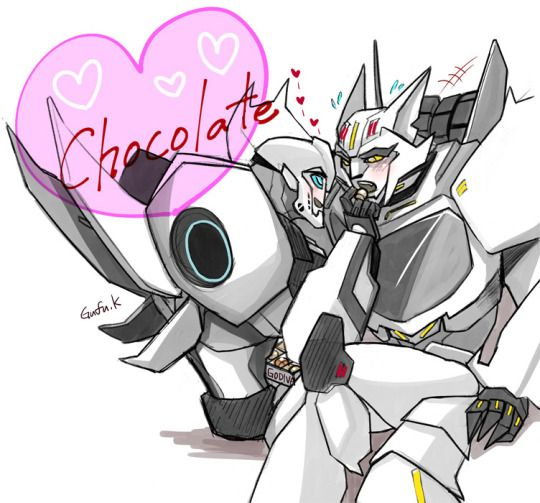Chocolate<3<3 Bumblebee & Steeljaw | rev up and roll out
