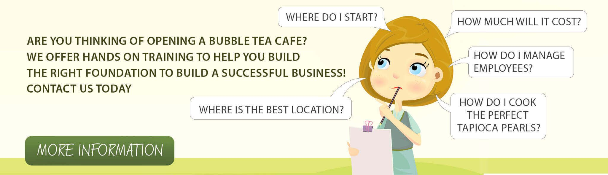 Come Join Us For Our Bubble Tea Snow Fluff Coffee Hands On Training