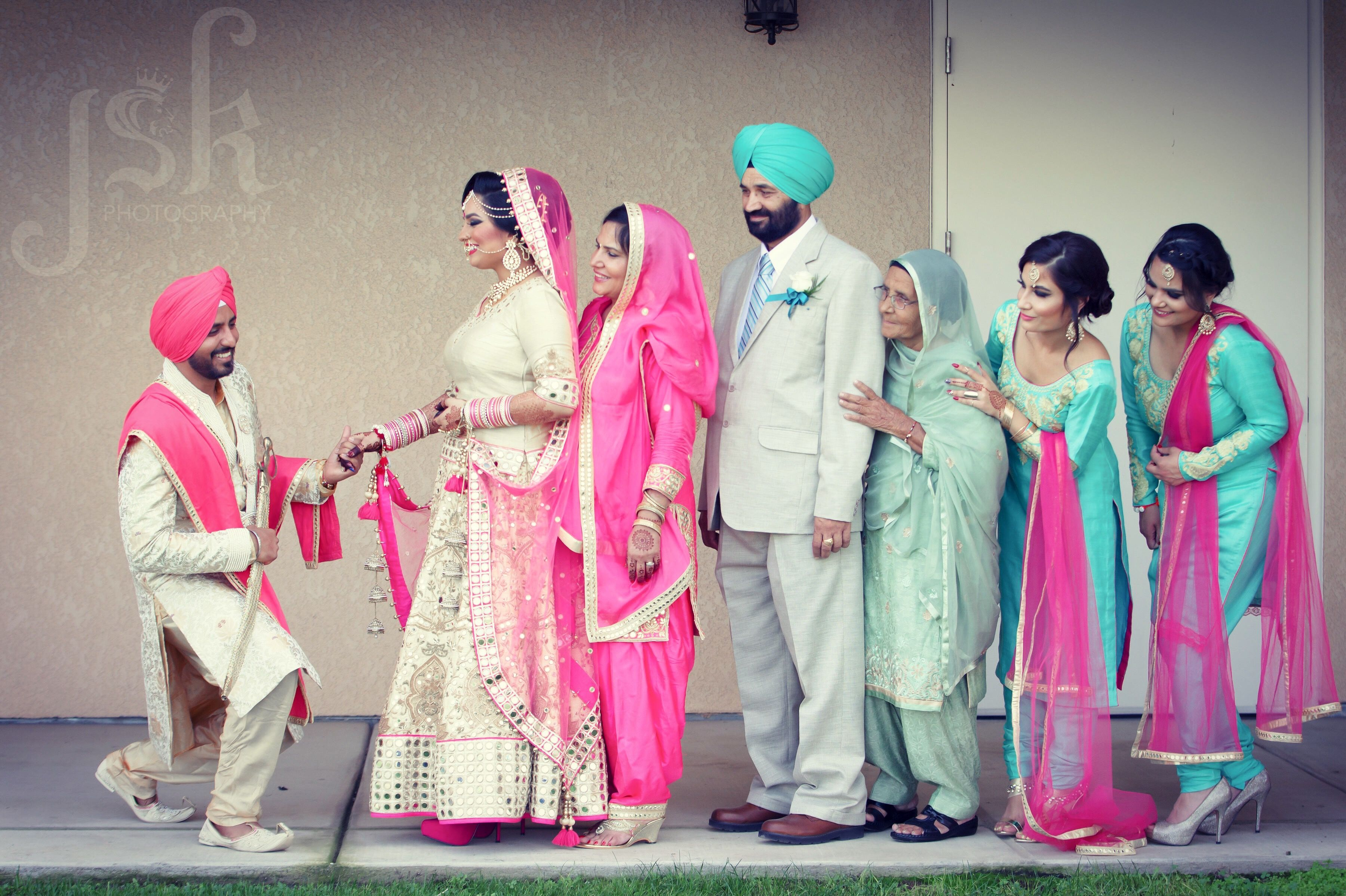 indian wedding photography design%0A Indian wedding family portrait  Wedding photography by JSK Photography