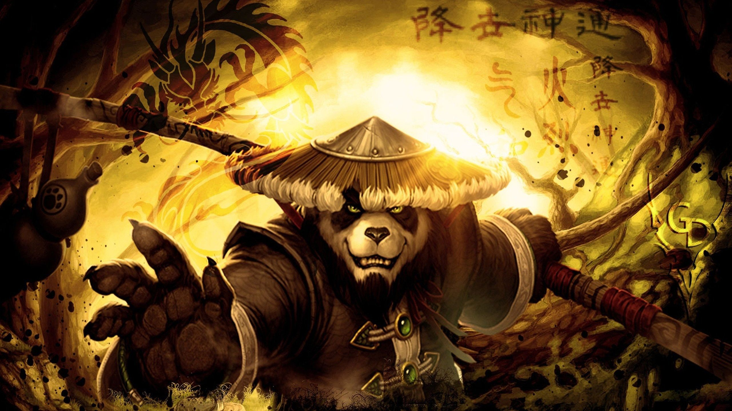 world of warcraft wallpapers christmas mists pandaria - World Of Warcraft Christmas