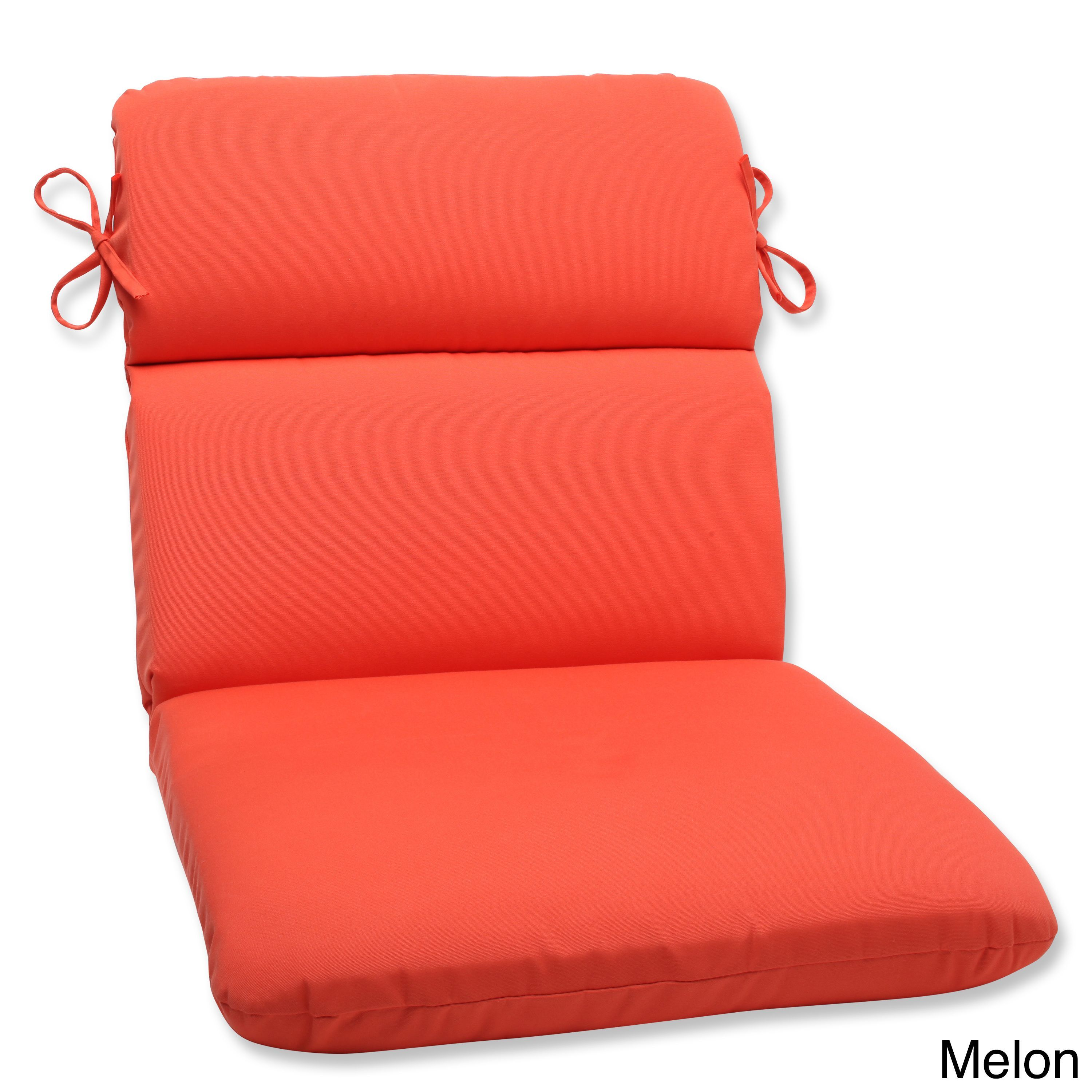 pillow perfect outdoor solid rounded corners chair cushion with rh pinterest com