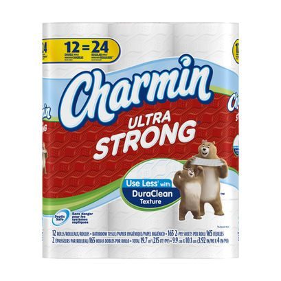 photograph regarding Charmin Printable Coupon named Charmin Extremely Potent Bathroom Paper 12 Double Rolls Shais