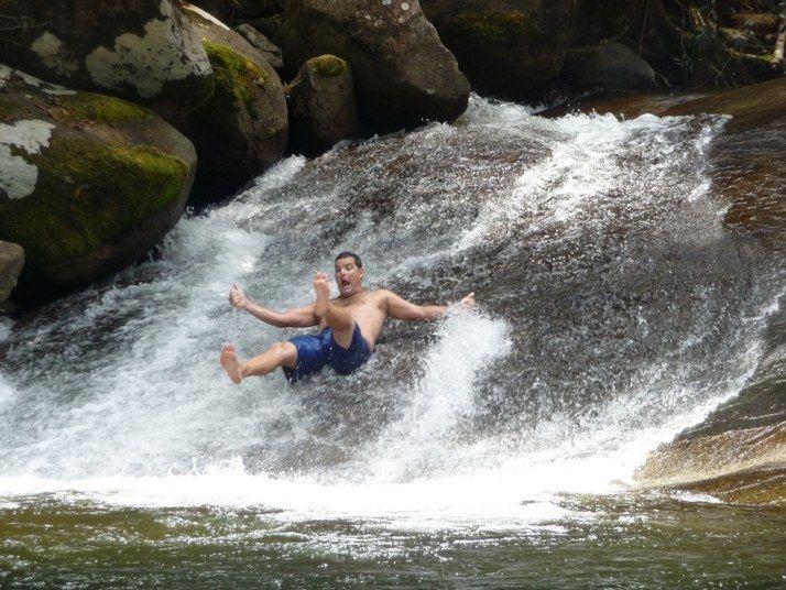 Georgetown Ca Natural Water Slide