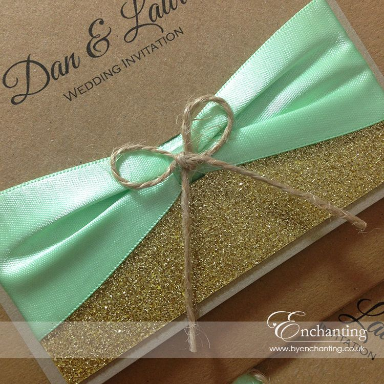Mint Green Wedding Invitations Mint Green Wedding