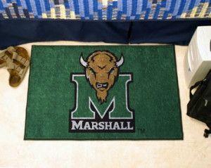 Marshall Thundering Herd Area Rug - Starter Style, Logo Design