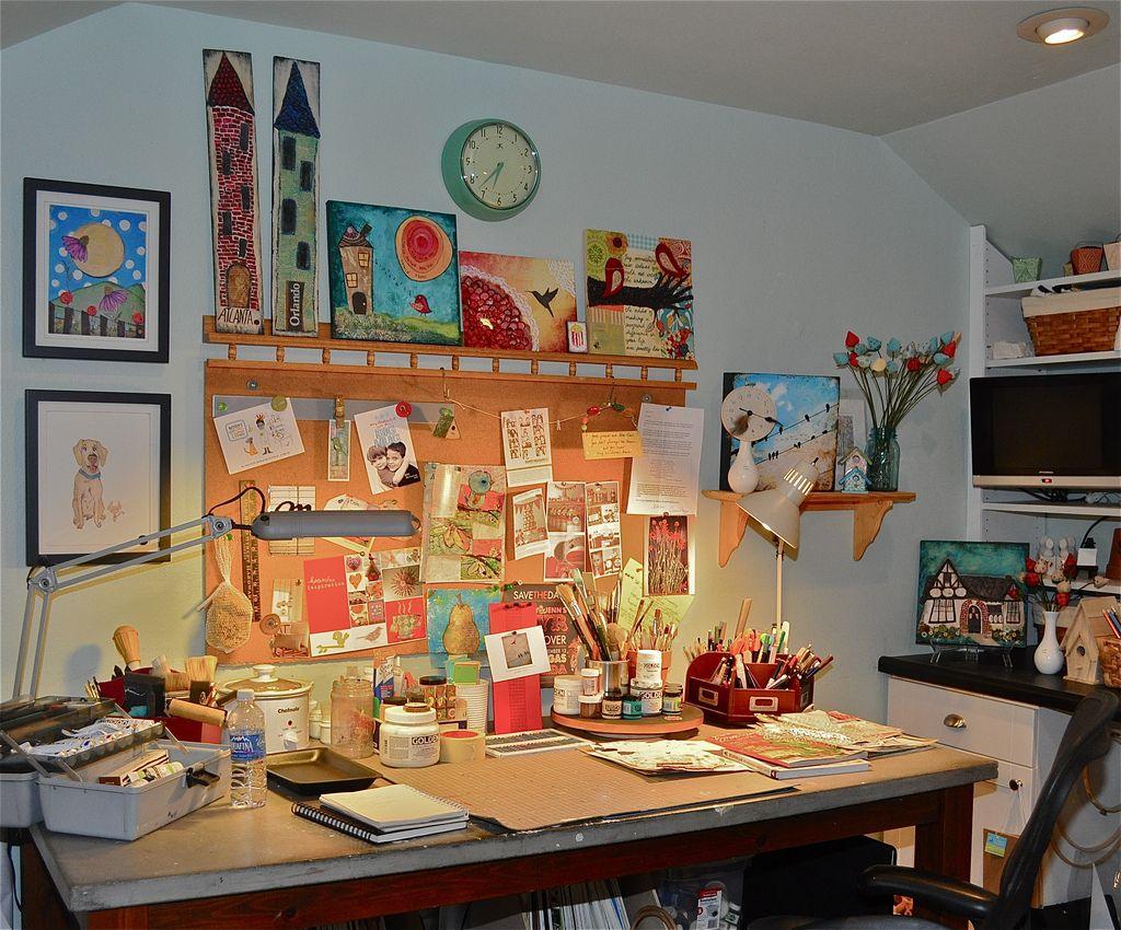 Robotissima Dream Craft Room Craft Room Space Crafts Arts and crafts room