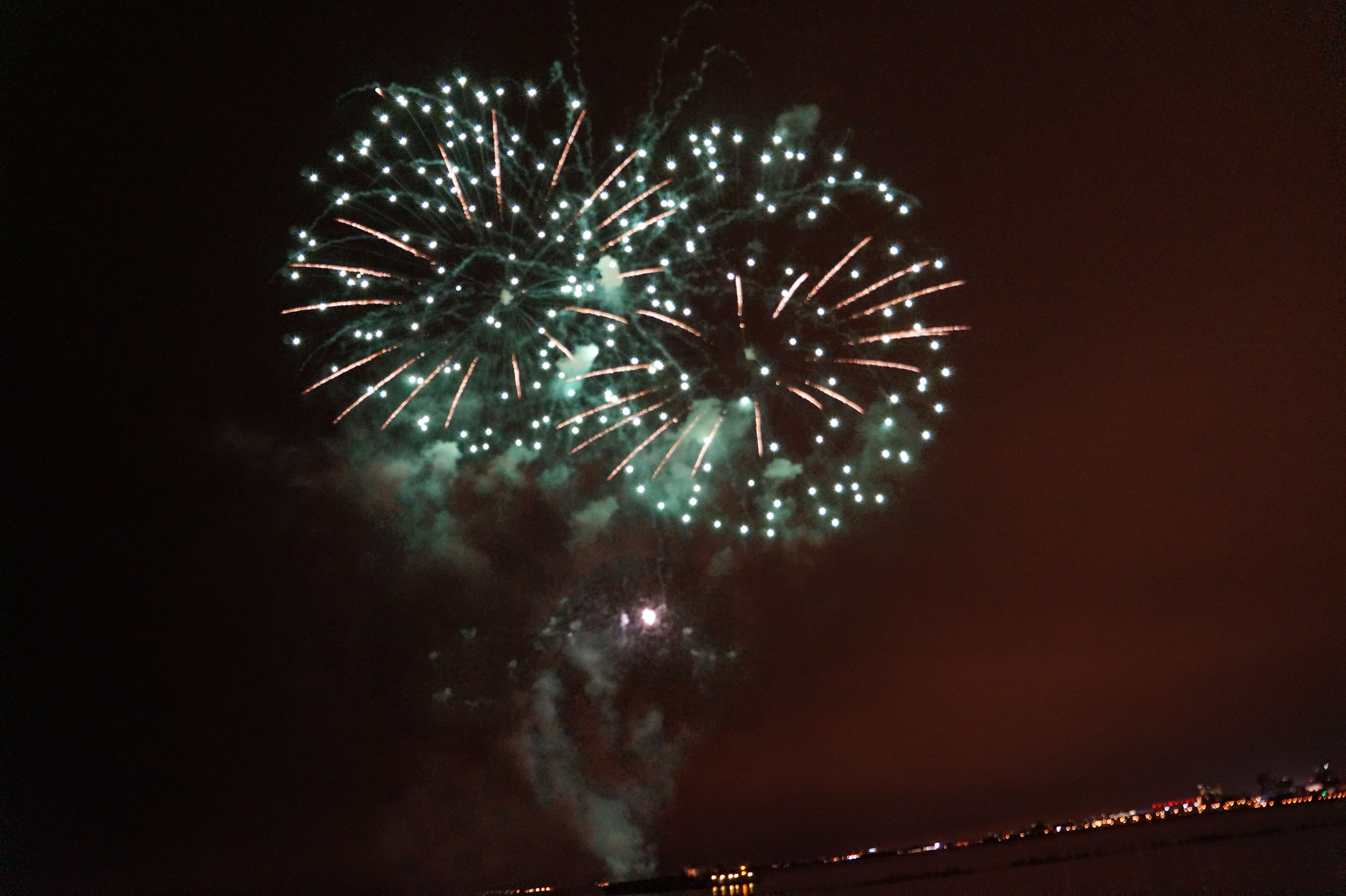 Colors Sky Navypier Chicagofireworks Chicago Fireworks Navy Pier Chicago Navy Pier