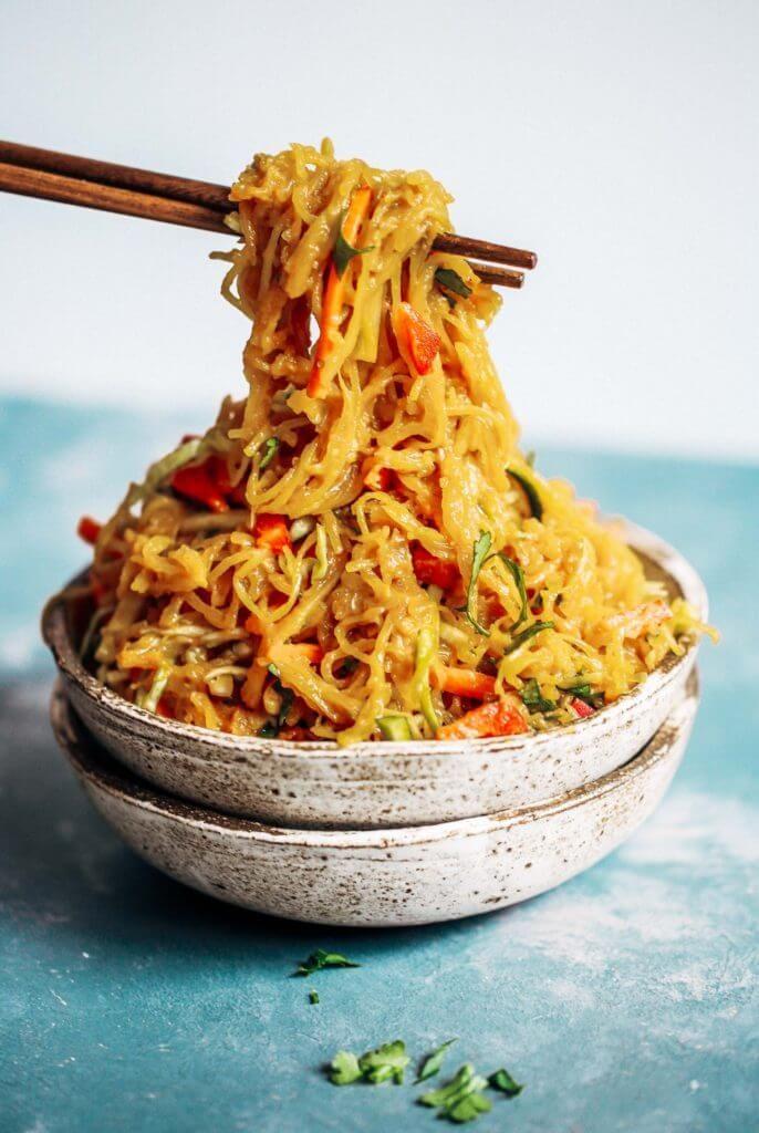 Photo of Best Asian Garlic Paleo Whole30 Noodles – Paleo Gluten Free …