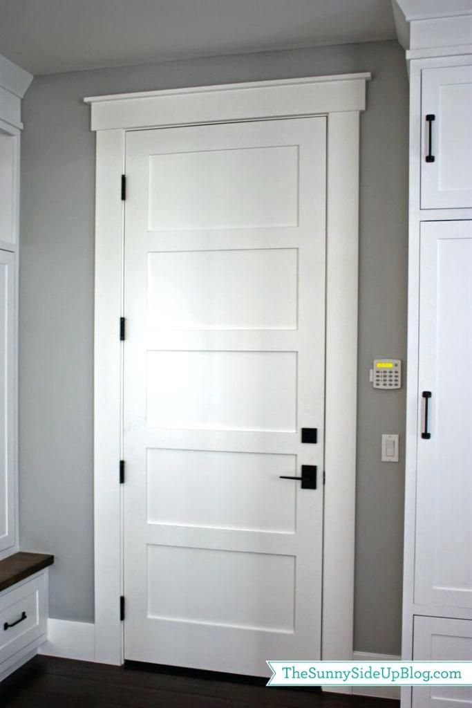 Modern Interior Door Trim Ideas Best Nice Pictures Molding Blessed On House Front Moldin Interior Door Trim Interior Door Styles Farmhouse Interior Doors