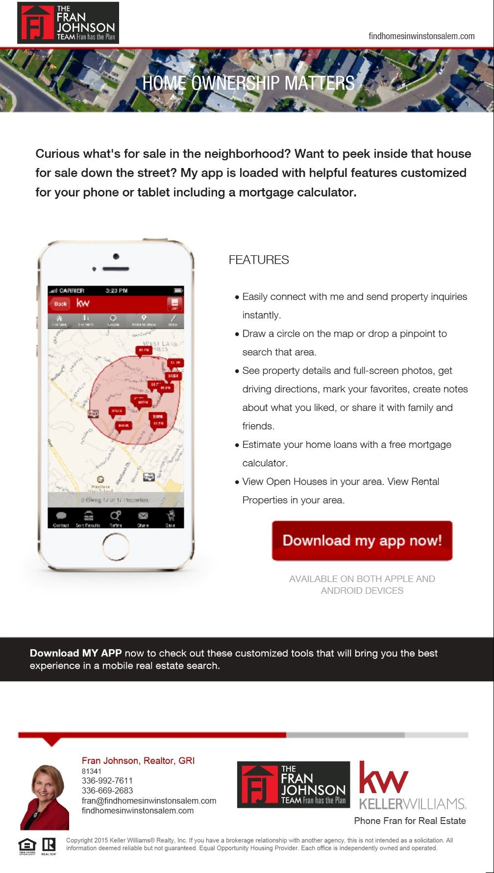 Keller Williams Realty Log into the Vision