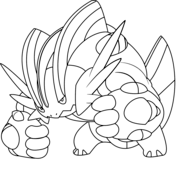 Pokemon Coloring Pages Swampert Trend