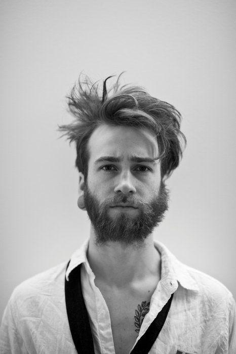 Disheveled Beard Beard No Mustache Beard Facial Piercings