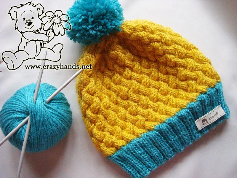 Simple Knit Hat Pattern Swedish Styled Set Crazy Hands Knitting Knit Headband Pattern Hat Knitting Patterns Simple Knit Hat