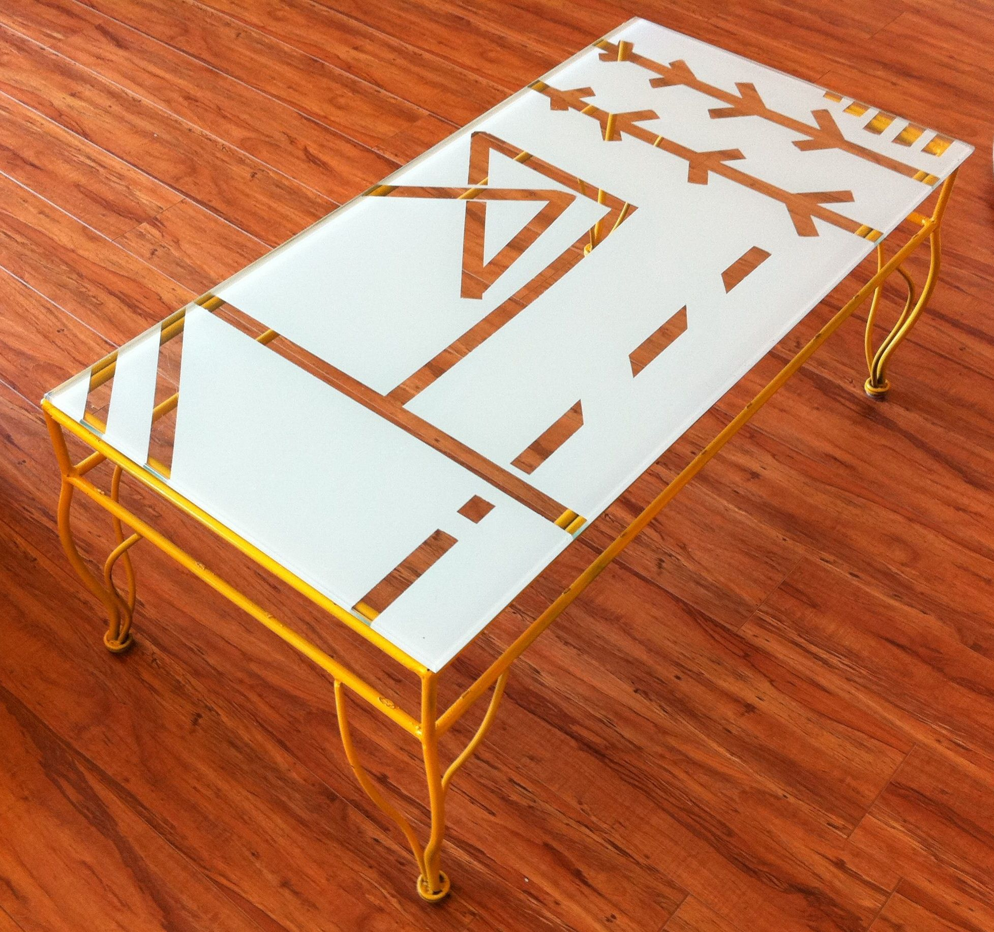 Coffee table ultra vintage painted coffee tables and diy glass coffee table ultra vintage painted coffee tables and diy glass tile table glamorous diy glass table geotapseo Choice Image