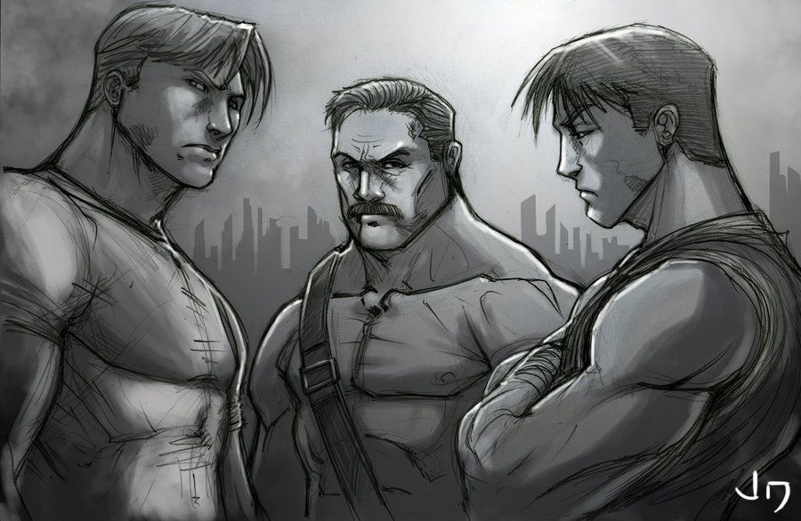Ultimate Final Fight By Arsenalgearxxdeviantartcom
