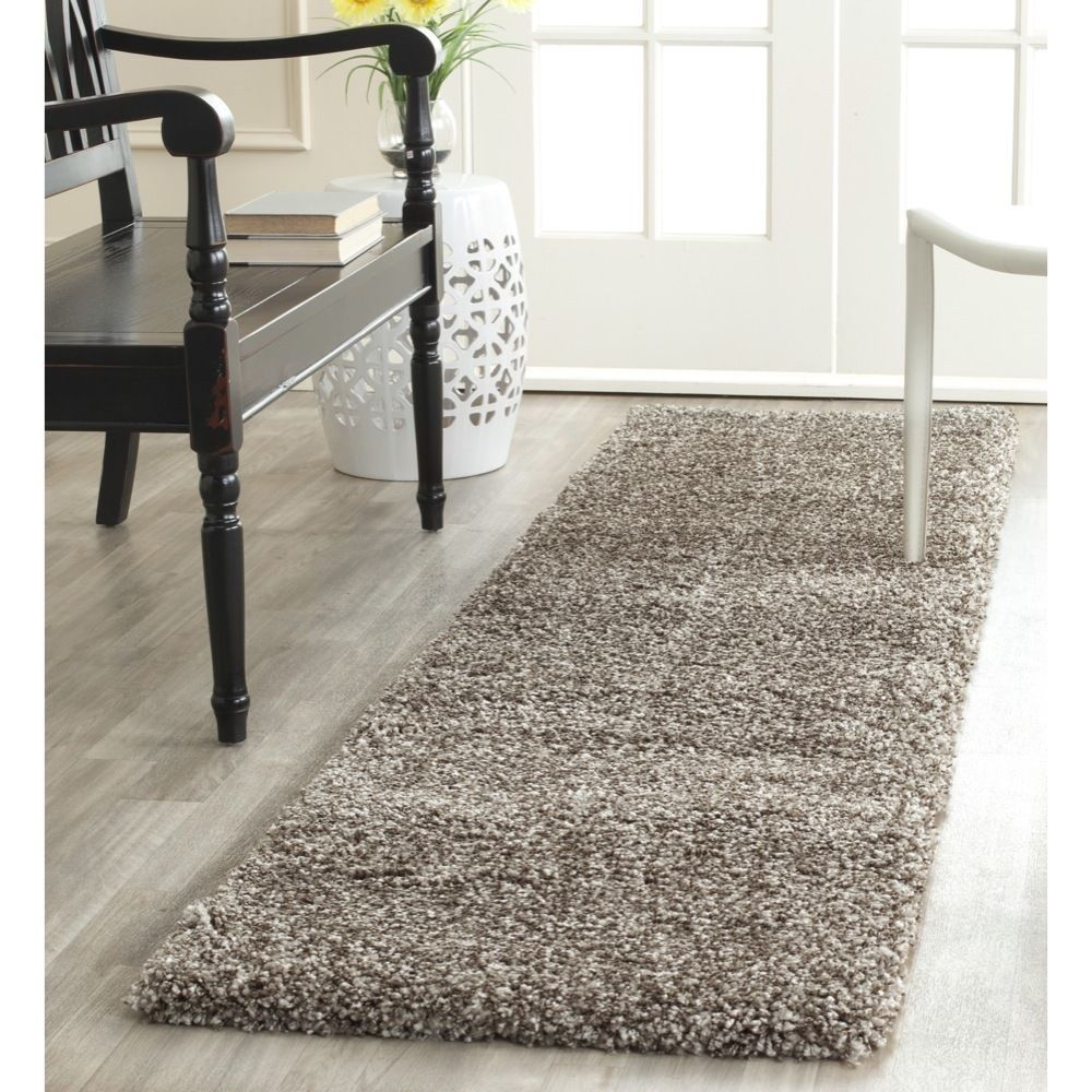 rug for living room size%0A Make a bold contemporary statement in the living room  bedroom or den with  a Milan Shag rug from Safavieh  Ultrasoft  longwearing polypropylene yarn  is