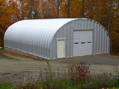 Quonset hut garage kit cool pinterest garage kits for Small hut plans