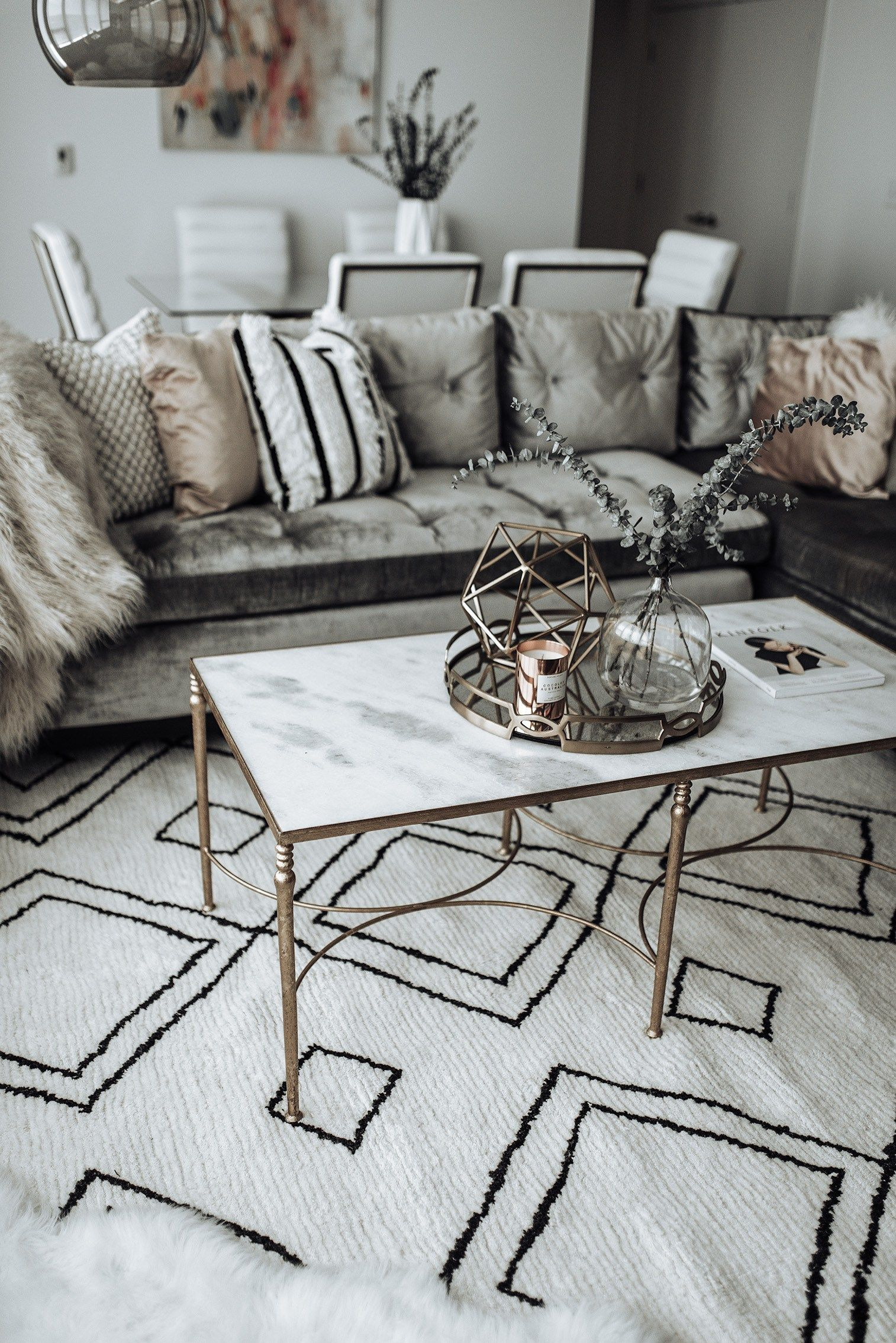 Click to shop Family room update