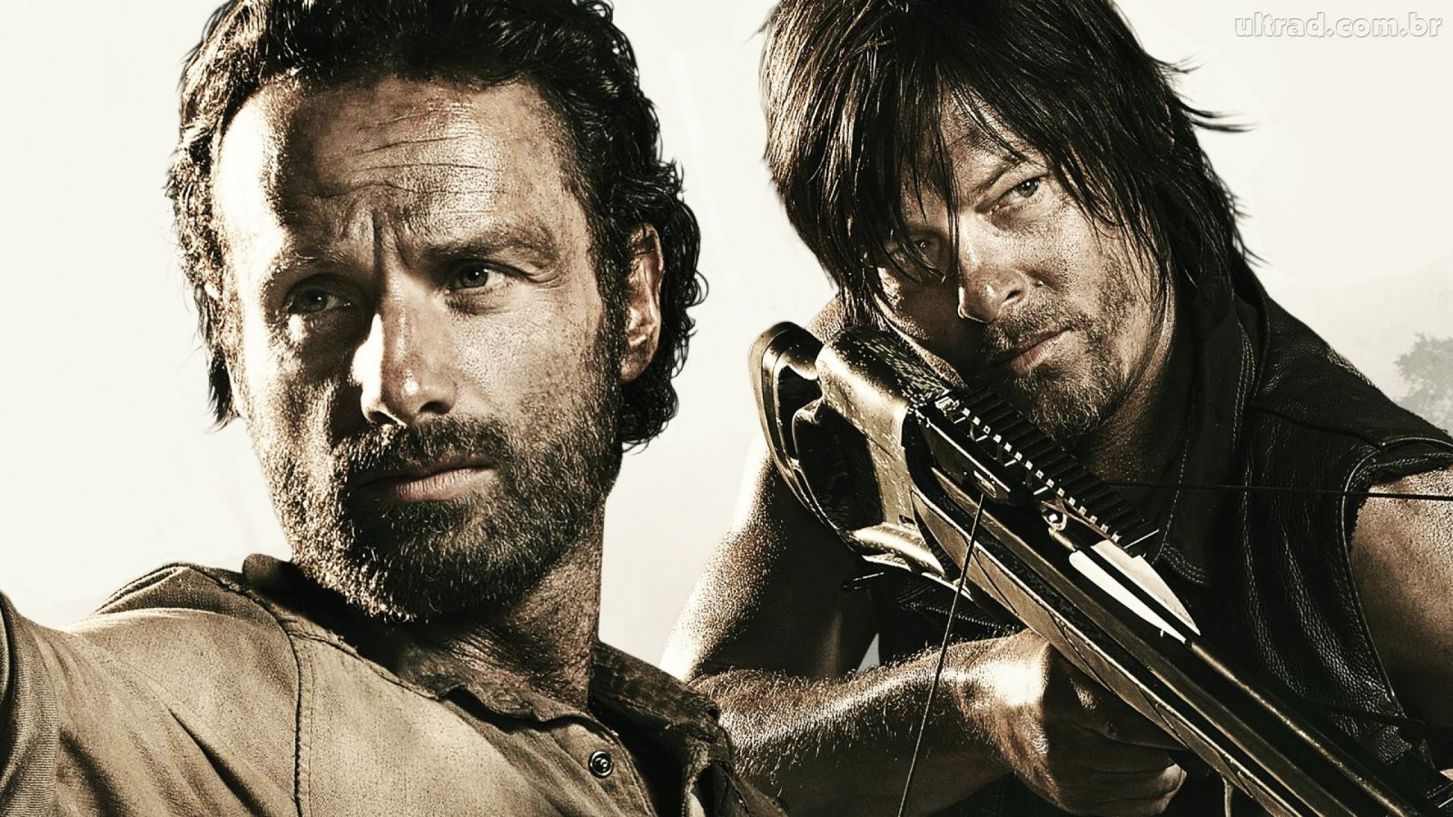 Rick Grimes and  Daryl Dixon - The Walking Dead