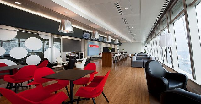 Ultra Modern Office Cafeteria With Images Modern Office
