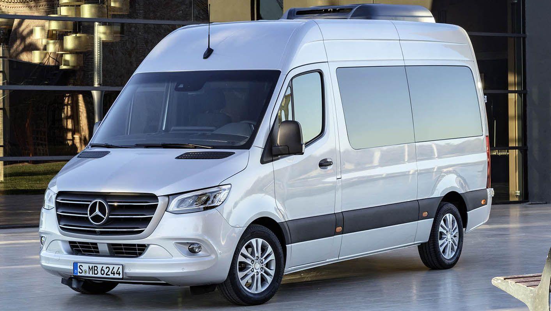 مرسيدس بنز سبرينتر 2019 الجديدة كليا أجمل سيارات الميني فان وأكثرها تطو را موقع ويلز Benz Sprinter Mercedes Benz Trucks Sprinter