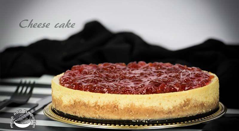 تشيز كيك بالفرن بالزبادي لذيذة و إقتصادية مثل الجاهزة Desserts Cheesecake Recipes
