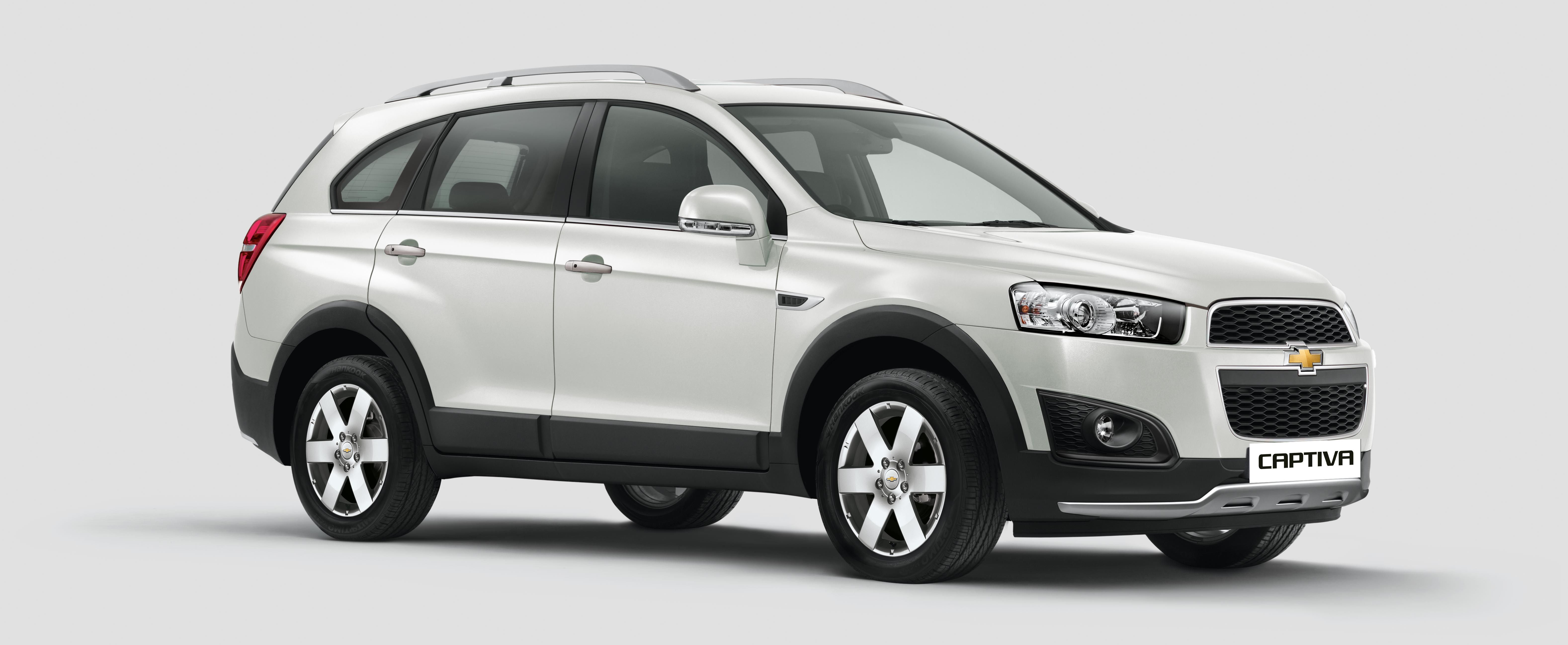 MY 15 Chevrolet Captiva launched by General Motors A2Z