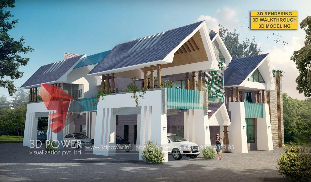 Gambar Desain Rumah Villa Minimalis | Good Ideas | Pinterest | Villas