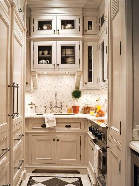 a 6 16 foot galley kitchen the custom tricks that make it work rh pinterest com