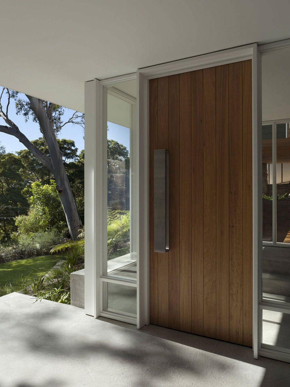 Front Door Skirt + Rock House by MCK Architects & Front Door Skirt + Rock House by MCK Architects | doors | Pinterest ...