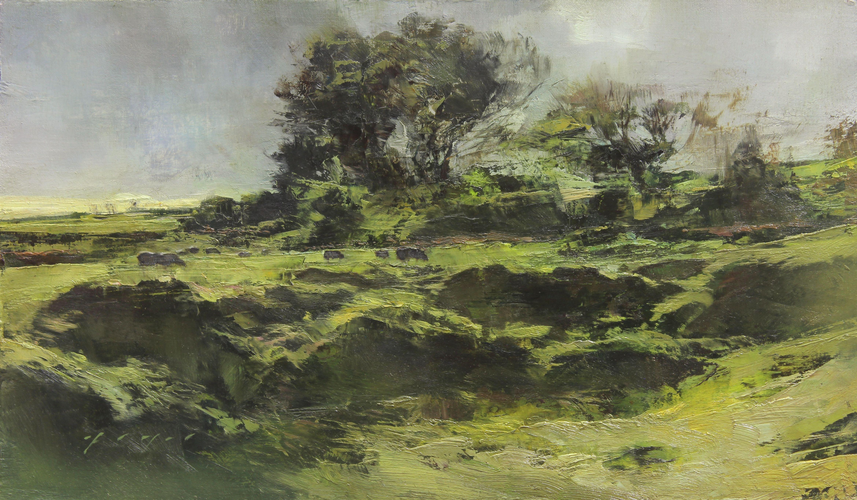 10 Spontaneous Landscape Paintings Fine Art Connoisseur Landscape Paintings Fine Art Landscape Fine Art Painting
