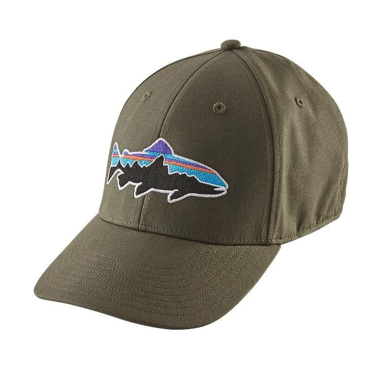 7a031303358 Patagonia Fitz Roy Trout Stretch Fit Hat