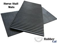 Horse Stall Mats provide ample comfort for your horses, and also keep their legs off of the cold cement.