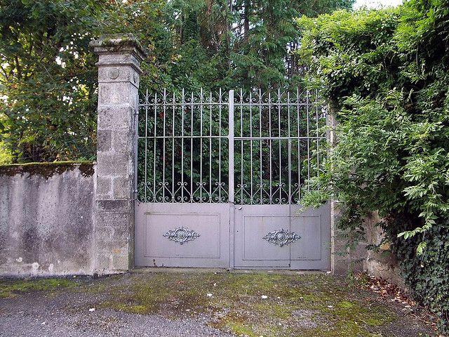 Château Gates, Fursac, France by maisonburke, via Flickr