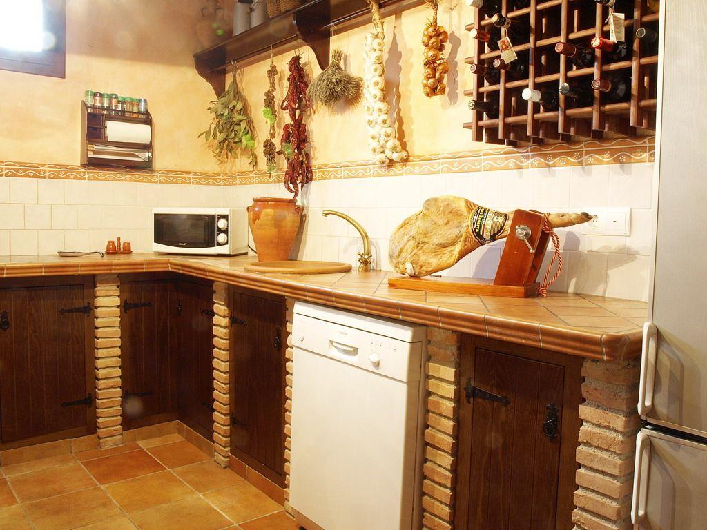 Cocina rustica 4 ideas de decoraci n pinterest - Cocina rustica pequena ...