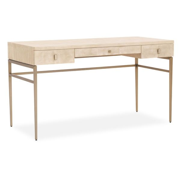 this chic desk from mitchell gold bob williams solange collection rh pinterest com