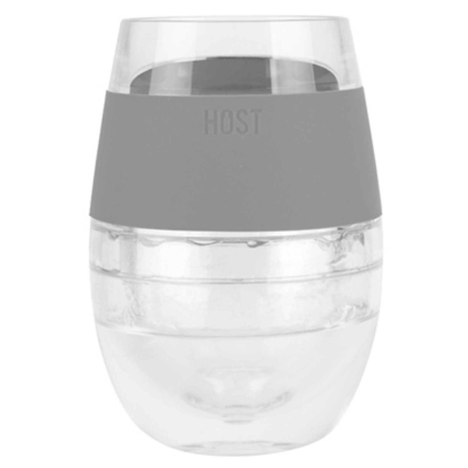 Host Wine Freeze Cooling Cup Gray Clear Products In 2019 Wine