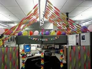 Birthday Cubicle Decorating Ideas Bing Images Office Decorations Also Yosh Sierra Sierrafehoko Rh
