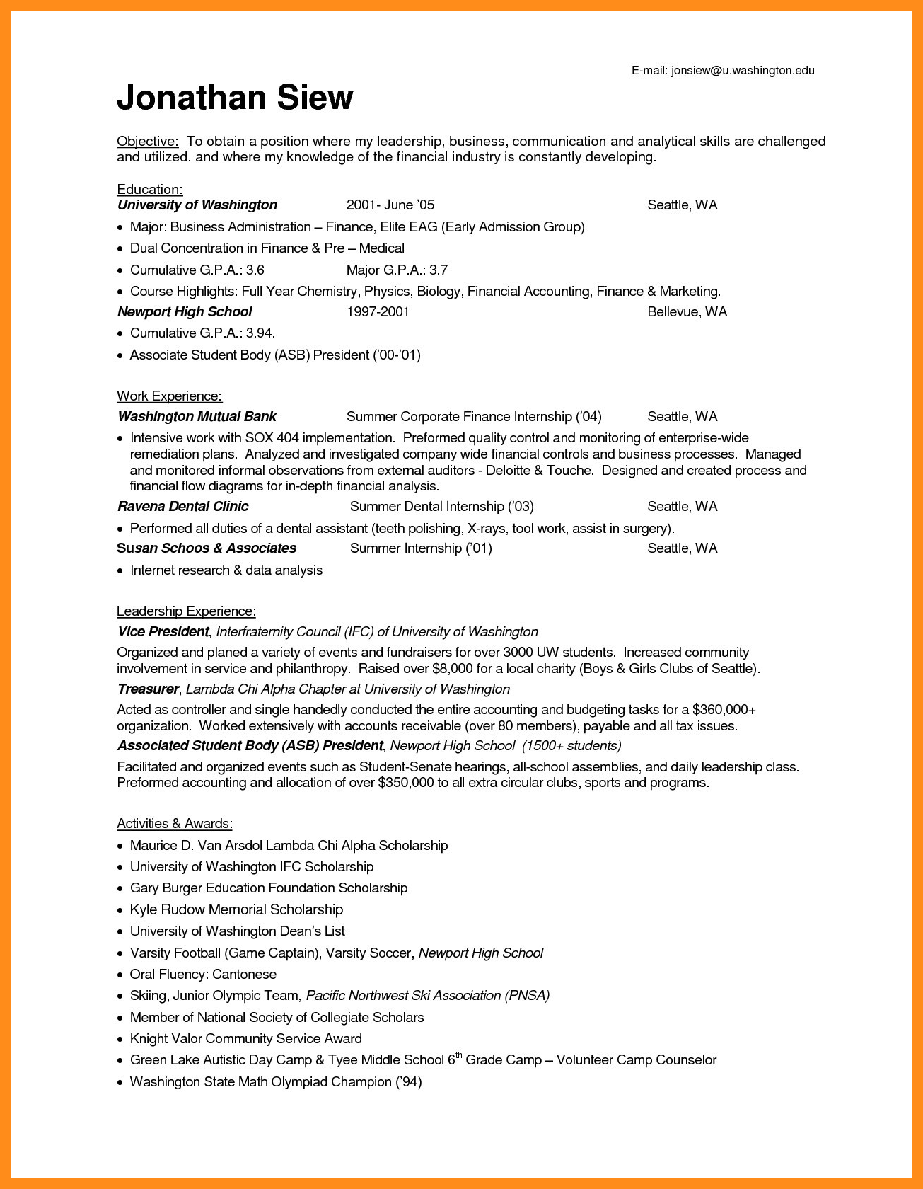 37+ accountant resume examples in 2020 Accountant resume